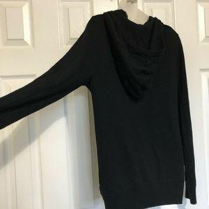 All Saints Jackets & Coats - All Saints Small Jacket Black Hoodie Wool Sweater
